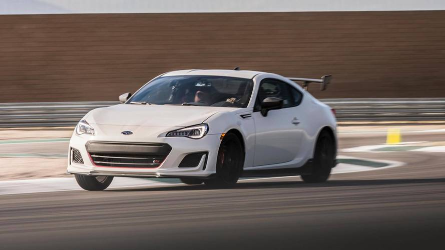 2018 subaru brz ts first drive more than just a wing. Black Bedroom Furniture Sets. Home Design Ideas