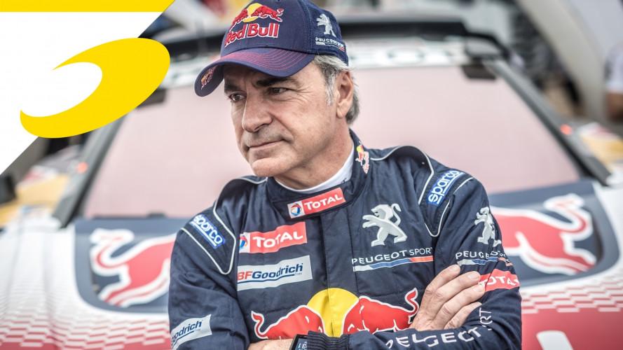 La Dakar delle leggende, Carlos Sainz