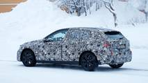 BMW 1 Serisi Kar Üzerinde Kamuflajlı Görüntüleri