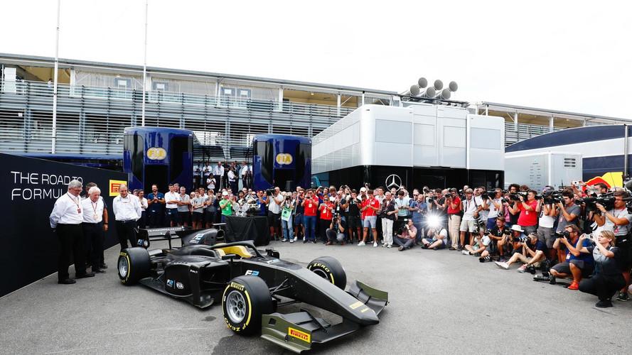 La Fórmula 2 presenta el coche de 2018 (con Halo)