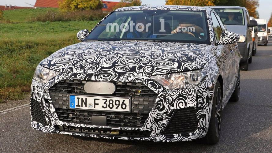 Next-Gen Audi A1 Spied Looking Stylish