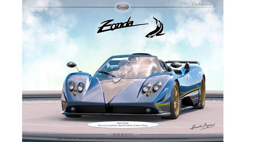 New Pagani Zonda for TopCar customer