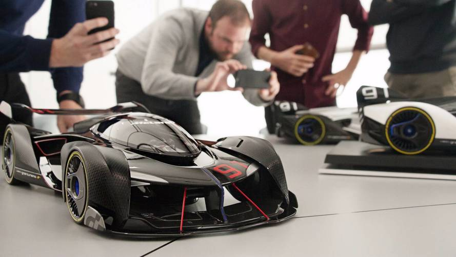 McLaren Ultimate Vision GT 1:8 scale models announced