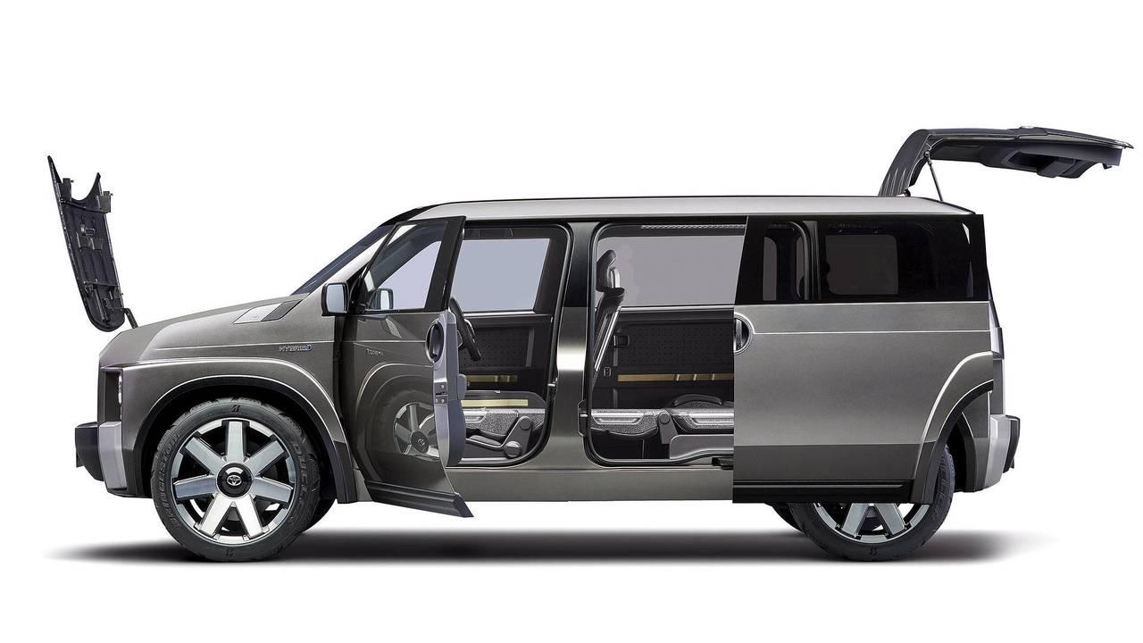 Toyota TJ Cruiser konsepti - Kayar kapılar