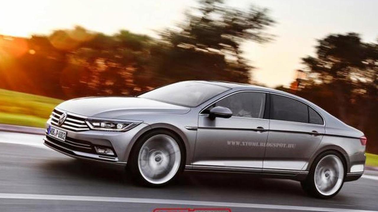 Volkswagen Passat CC rendering