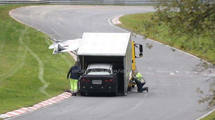 2016 Kia Optima breaks down on the Nurburgring