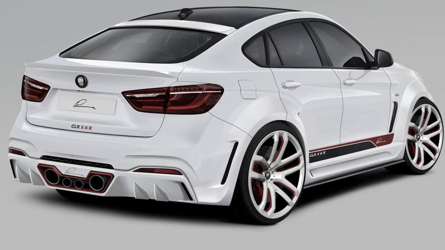 Lumma Design's cartoonish body kit for BMW X6 costs almost €33,000