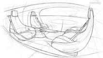 Mercedes previews the interior of their autonomous driving concept