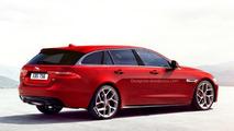 Jaguar XE S Sportbrake rendered, will likely happen