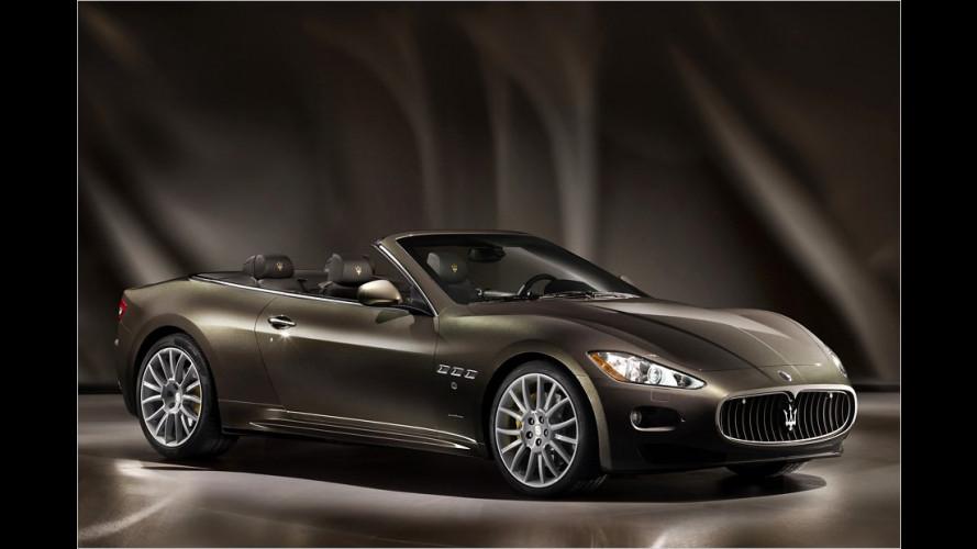 Noch edler: Maserati GranCabrio Fendi