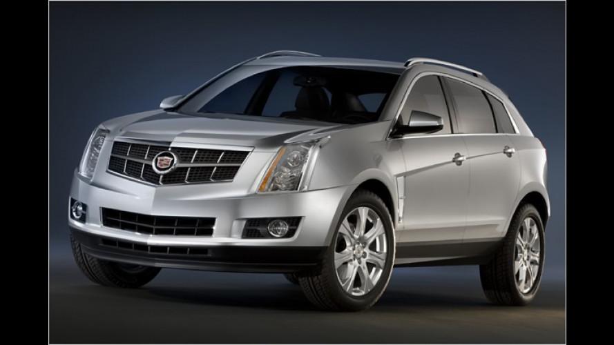 Cadillac SRX: Das neue Crossover-Modell kommt 2009