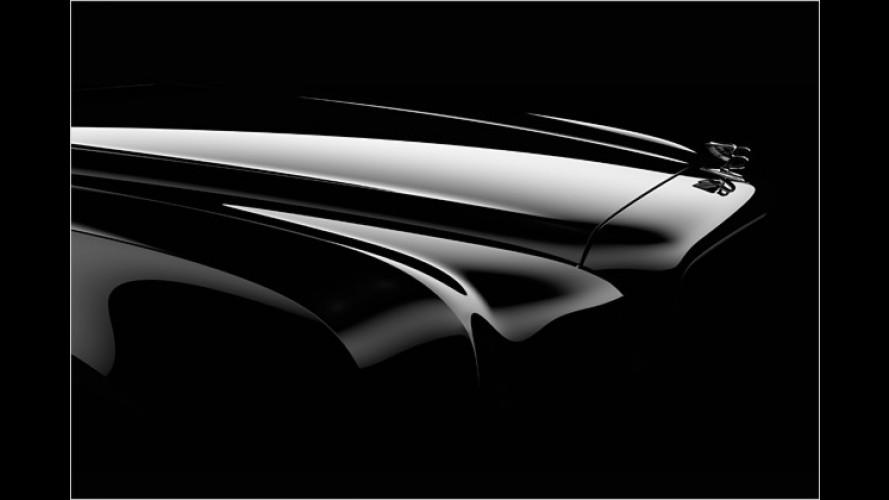 Vorahnung: Erste Bilder vom Bentley-Arnage-Nachfolger