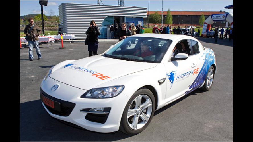 Europapremiere für Mazdas Wasserstoff-Wankel