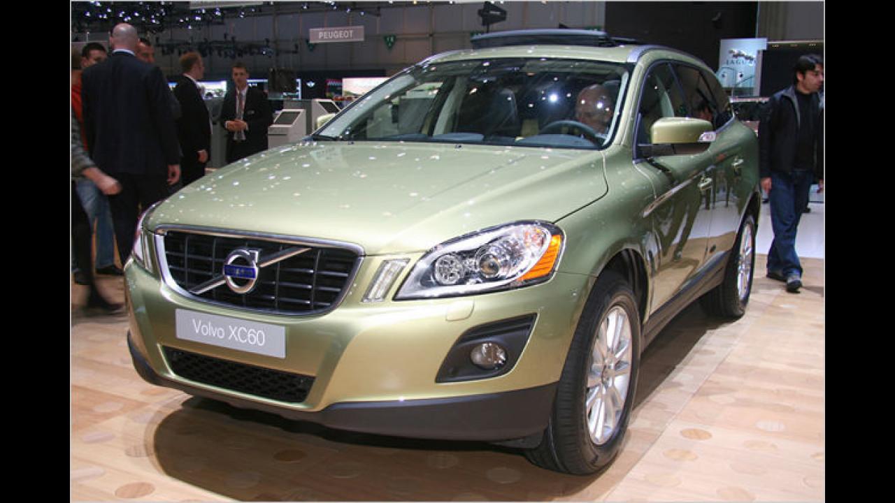 Volvo XC60: Die kleinere Alternative zum XC90 kommt im Herbst 2008