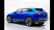 Jaguar divulga teaser do SUV F-PACE, versão de produção do conceito C-X17