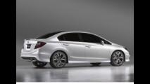 Novo Honda Civic 2012 é apresentado em Detroit disfarçado de conceito - Veja fotos