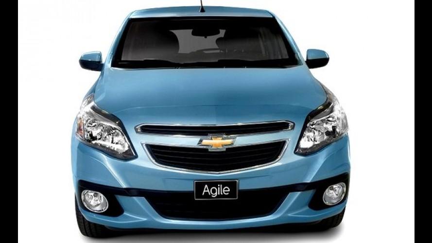 Chevrolet revela novo Agile 2014 na Argentina