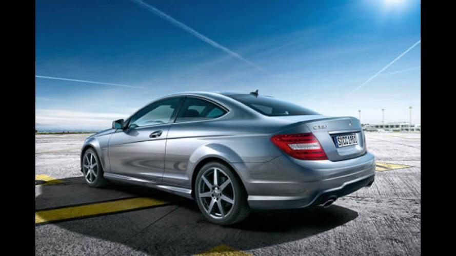 Definido: Novo Mercedes Classe C Coupé chega ao Brasil em setembro