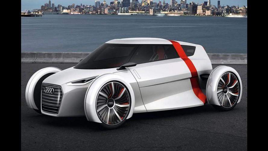 Frankfurt: Audi apresentará protótipo elétrico de dois lugares Urban Concept