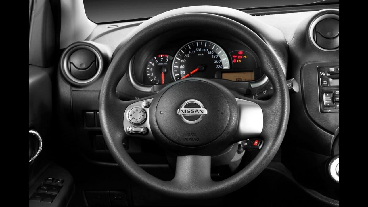 Nissan March SR com pacote Premium e freios ABS chega por R$ 38.690