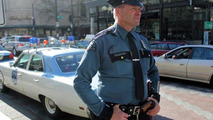 1970 Plymouth Satellite police cruiser in Seattle