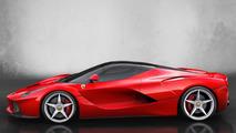 Ferrari hints at special LaFerrari-based model