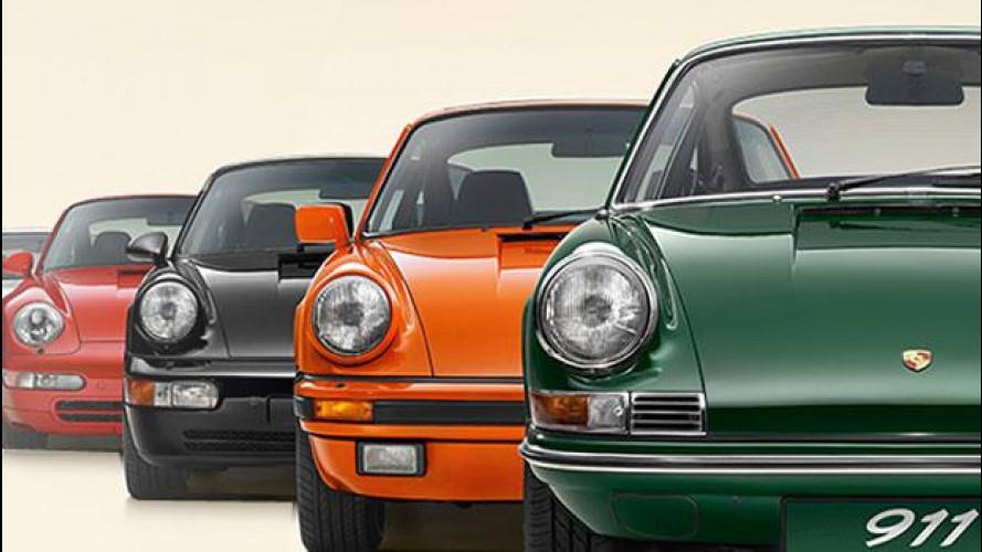 Porsche festeggia i 50 anni della 911 con un tour