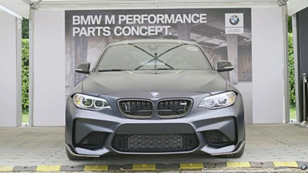 M Performance Parts Concept Detailed On Video By BMW