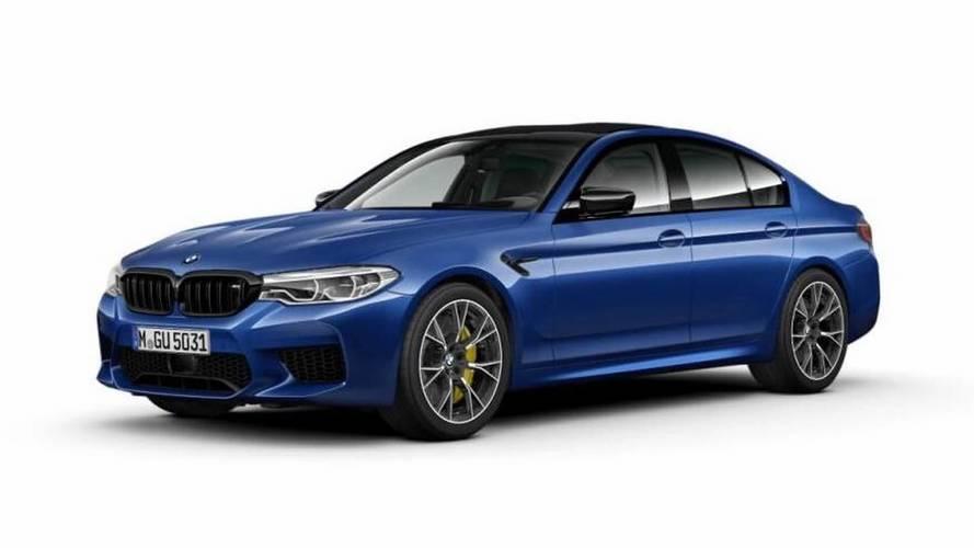 BMW M5 Competition Package'ın fotoğrafları ve detayları sızdırıldı