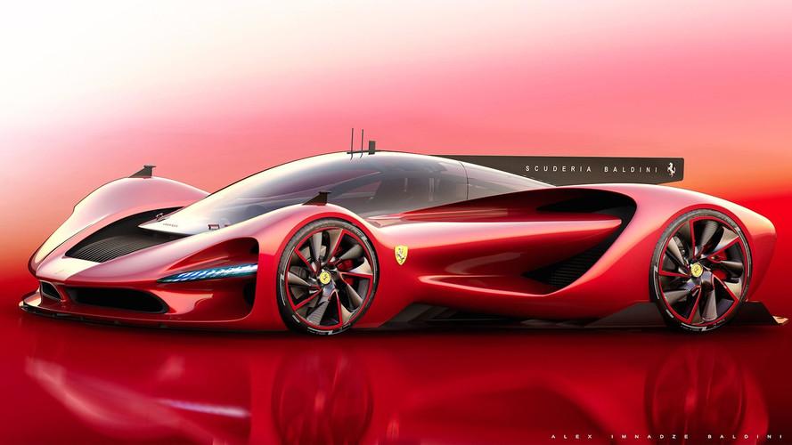 Ferrari P3 Rendering Proposes Fierce Aston Martin Valkyrie Rival