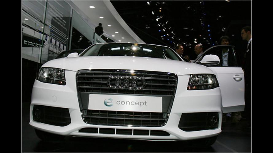 Audi A4 e Concept: Sprit sparen mit Start-Stopp-Automatik