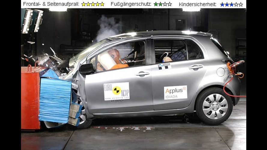 Crashtest: Fiat Croma, Toyota Yaris und Daihatsu Sirion