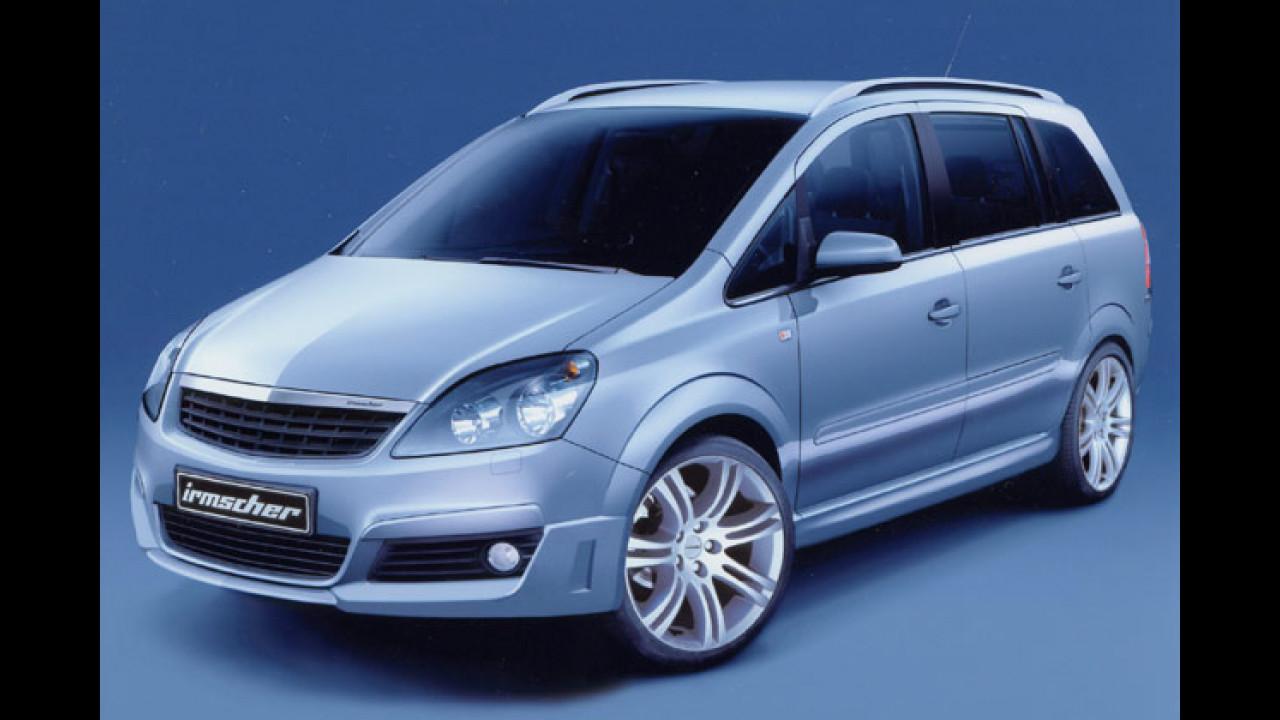 Irmscher tunt Opel Zafira