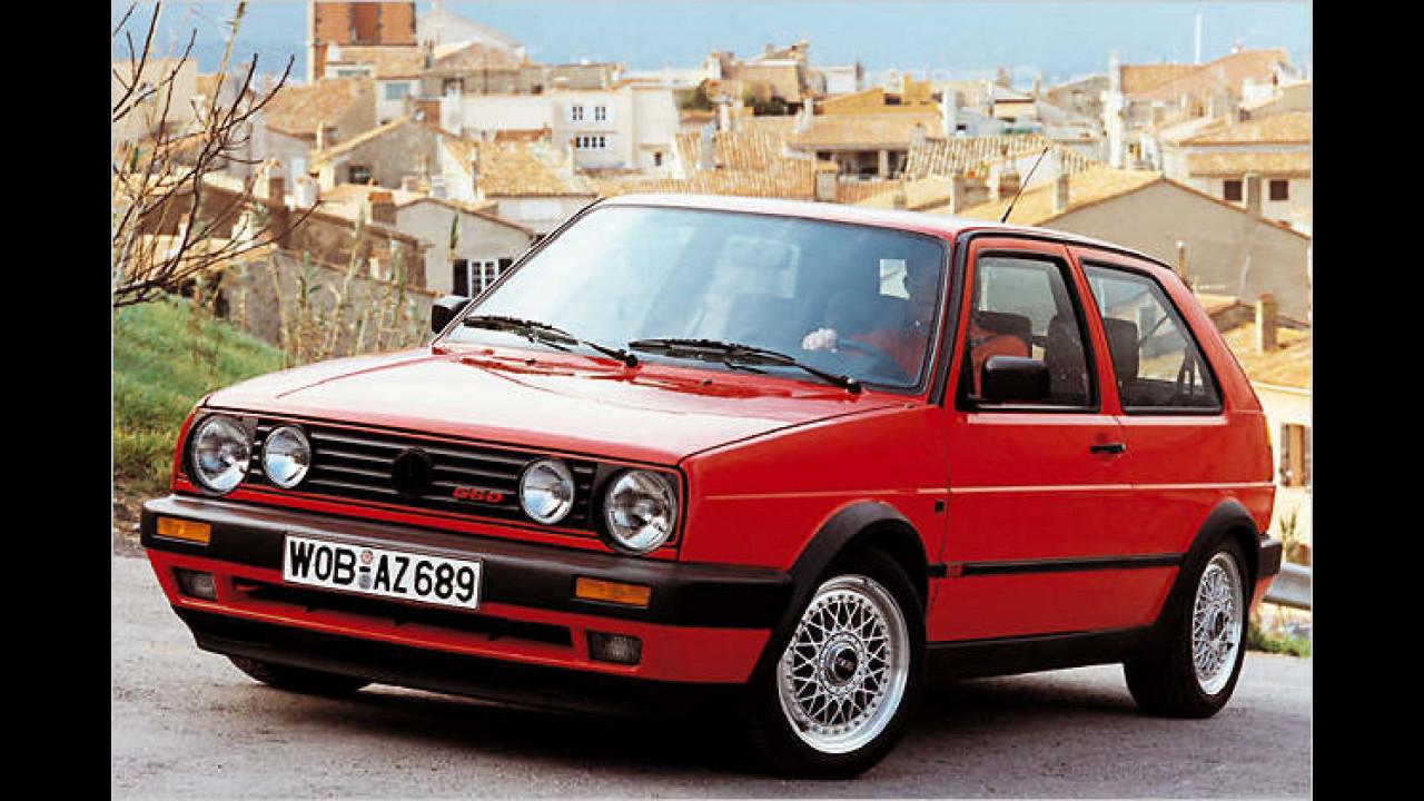 VW Golf II GTI G60, Bauzeit: 1989 bis 1991