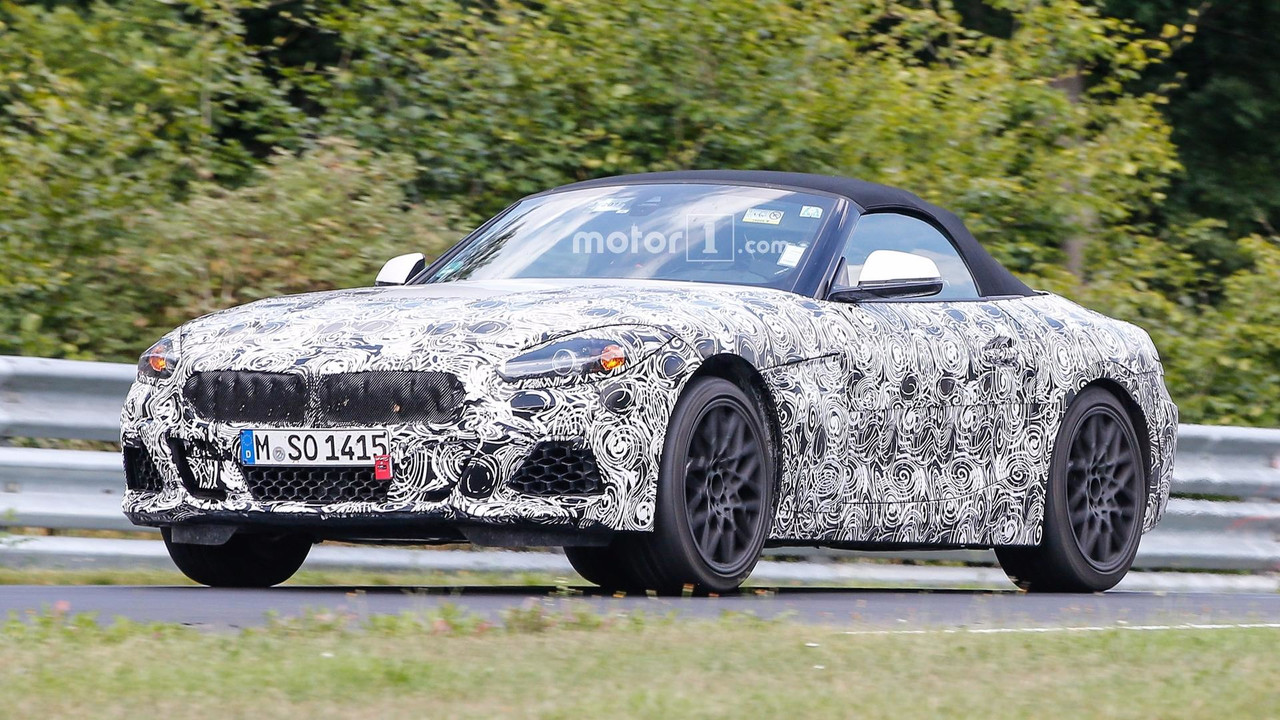 Bmw Z4 Concept Previewed In Substantial Teaser