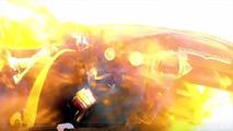 Ben Waddell Mazda Miata fire