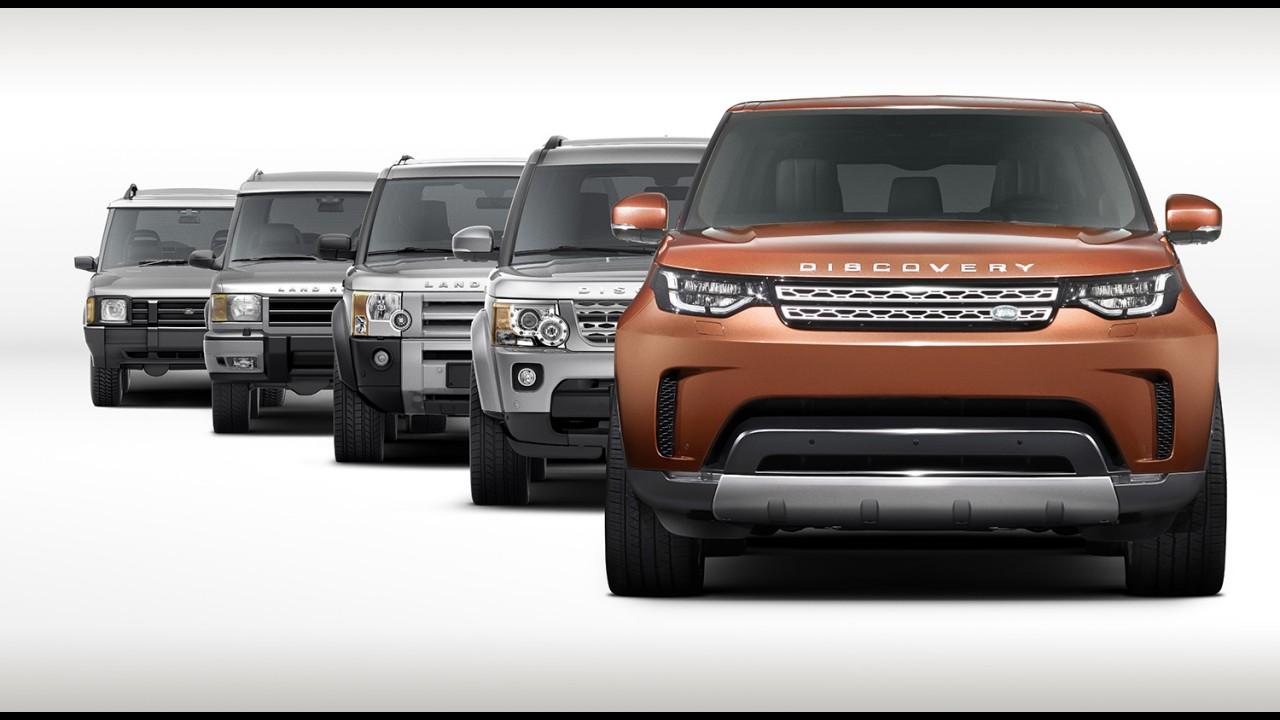 Land Rover Discovery 2017 já aparece em álbum de família antes do nascimento