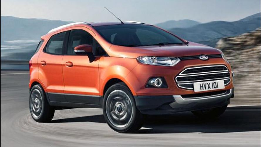 Ford EcoSport, il SUV urbano è su strada [VIDEO]