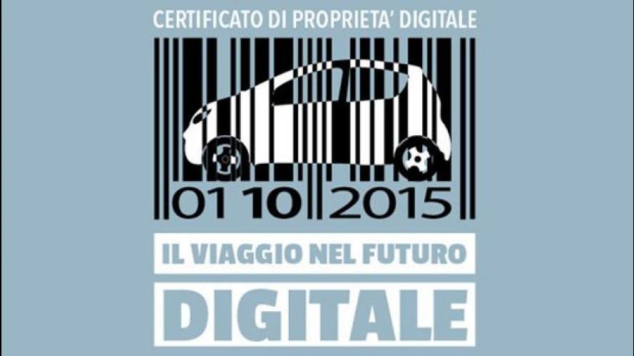 Certificato di Proprietà Digitale, domani la presentazione ufficiale dell'ACI