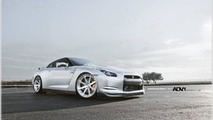 Nissan GT-R with ADV.1 wheels, 1024, 23.12.2011