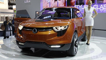 SsangYong XUV 1 concept live in Frankfurt 13.09.2011