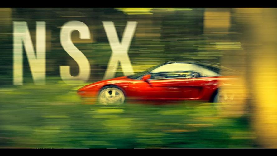 Ayrton Senna ve Honda NSX'in anıldığı kısa film