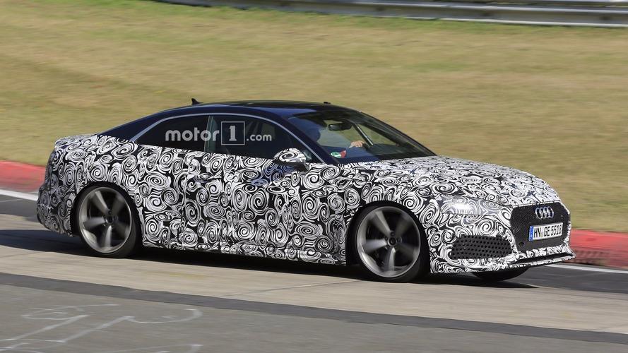 2018 Audi RS5 Coupe, Nürburgring'e Panamera 4S turbo gücüyle gelmiş