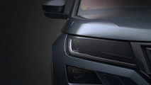 2017 Skoda Kodiaq render based on teaser