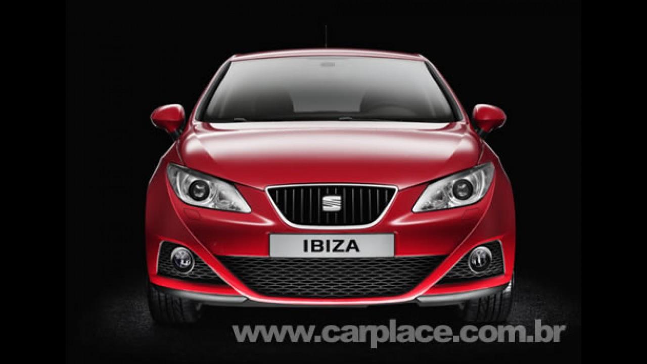 Seat lança Novo Ibiza 2009 no México - Modelo deve chegar ao Brasil em 2009