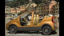 Fiat Portofino Concept - Carro-conceito praiano não tem teto e nem portas