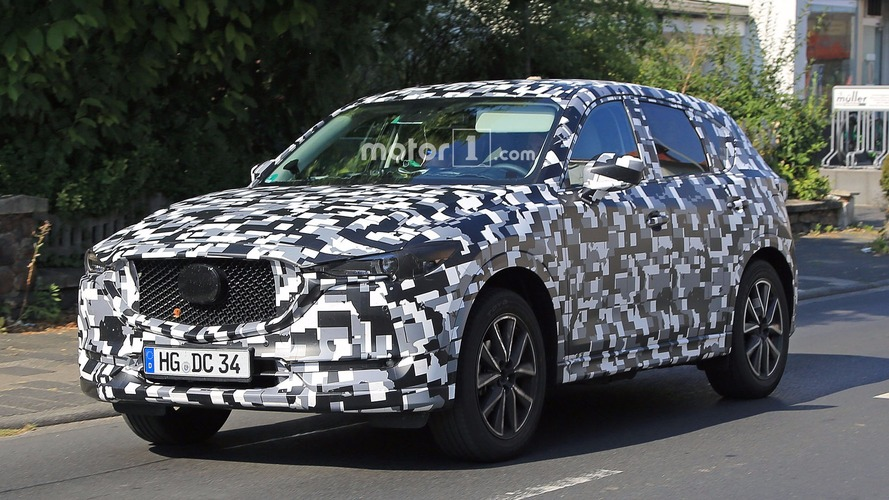 Refreshed 2018 Mazda CX-5 spied in Europe
