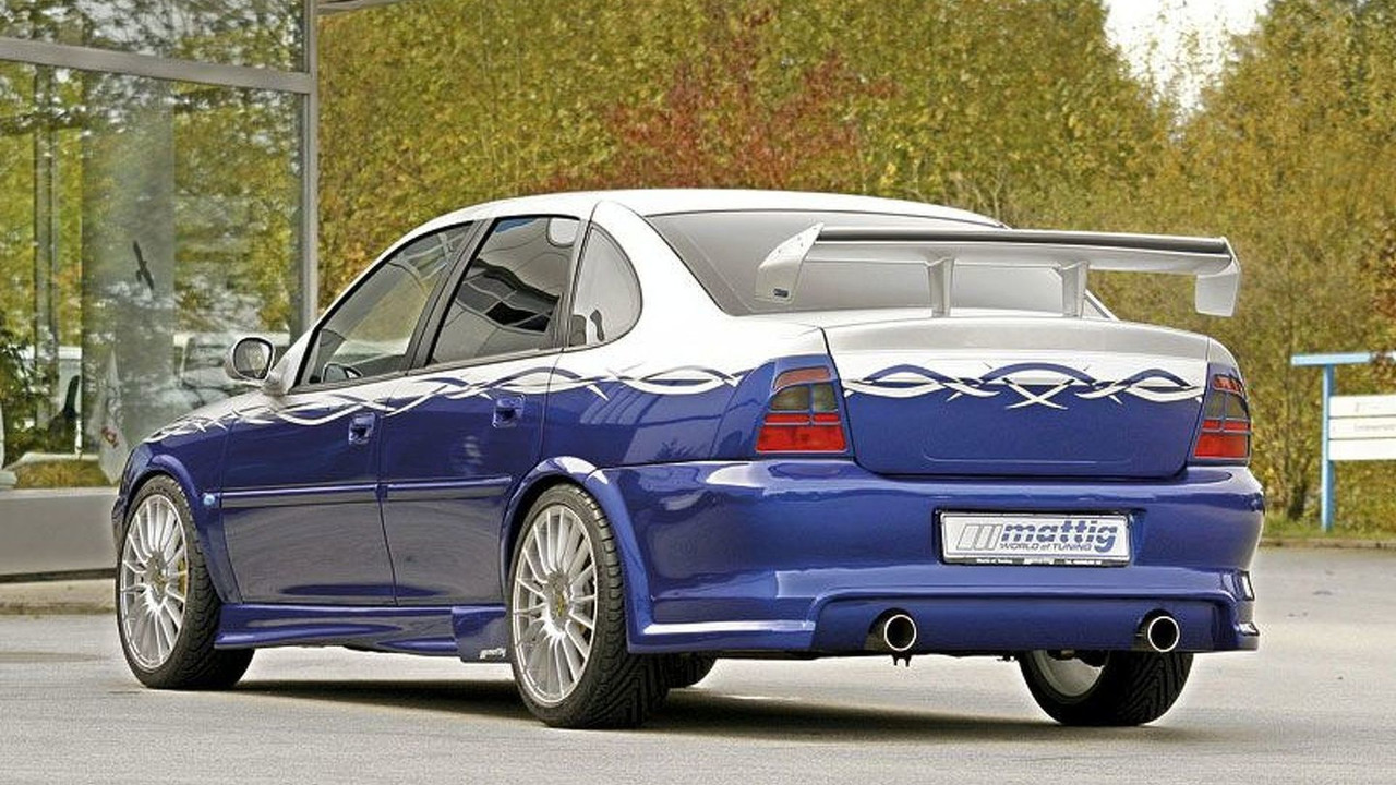 Opel Vectra B in Mattig design