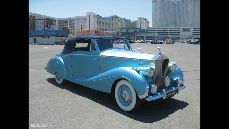 Rolls-Royce Silver Wraith Drophead Coupe