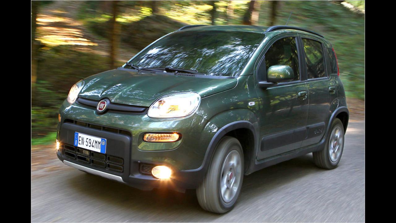 Für Winzer und Allradfans: Fiat Panda 4x4